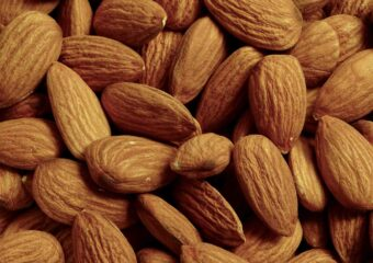 Almonds are one of the best muscle building foods
